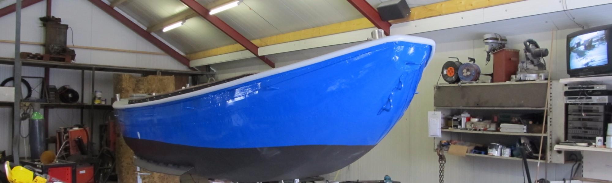 Klusloods voor bootreparaties en onderhoud